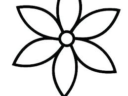 Simple Coloring Sheets Simple Coloring Page Free Printable Flower
