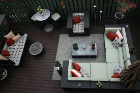 An Indoor & Outdoor Oasis Transitional Deck Philadelphia