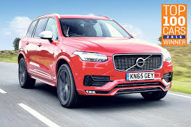 Volvo XC90: The Sunday Times Top 100 Cars 2016 Best Large 4x4 \u0026 SUV  U