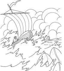 Jezus Kalmeert De Storm Op Het Meer Van Galilea Bijbel Discipelen