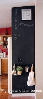 Kitchen Chalkboard With Shelf 17 Best Ideas About Chalkboard Walls On Pinterest Framed