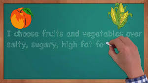 healthy food essay eating healthy affirmations
