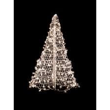 Crab Pot Trees 4 ft. Indoor/Outdoor Pre-Lit Incandescent Artificial  Christmas Tree