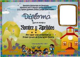 Formatos De Diplomas Para Preescolar Atlas Opencertificates Co