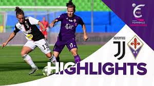 Juventus vs Fiorentina Women 2-0 | MATCH HIGHLIGHTS | Supercoppa Femminile  2019 - YouTube