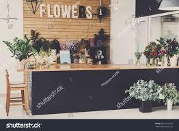 Modern Flower Shop Interior Design Small Business Modern Flower Shop Interior Stock Photo Edit