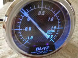 Blitz Black Light Gauges Bltz Blitz Machine Boost Controller Real Yahoo Auction Salling