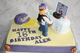 Teen Boys Sweet 16th Birthday Cake Cake By Pam And Ninas Crafty