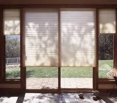 cellular shades for sliding glass doors sliding glass patio door shades grande room patio door shades