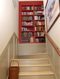 stair landing shelves