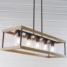 wood rectangle chandelier indoor outdoor rectangular rustic chandelier plans