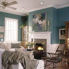 col sol 2002 teal living room with white fireplace