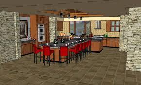 Sketchup Kitchen Design Simple Google SketchUpHome Design Software48 Afandar
