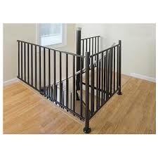 The Iron Shop Houston 3-ft Black Painted Wrought Iron Stair Railing Kit