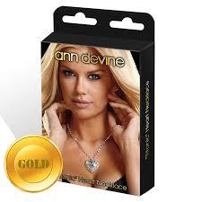 Золотистая <b>цепочка с сердцем</b> TITANIC Heart Necklace <b>Ann</b> ...