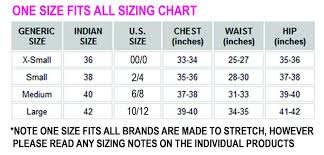Sizing Be Fit Apparel