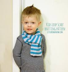 Child Scarf Knit Pattern