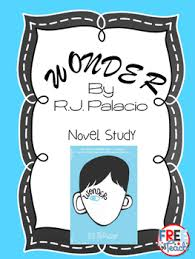 wonder r j palacio novel study questions vocab writing