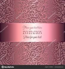 Abstracte Achtergrond Met Luxe Metalen Roze Plaats Voor Tekst