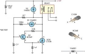 time delay circuit diagram all about repair and wiring collections article images time delay circuit diagram