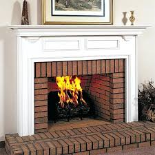 the fireplace wood frame outdoor