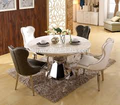 perfect marble round dining table set top with lazy susan and chair restaurant stainless steel singapore malaysium uk melbourne room nz perth