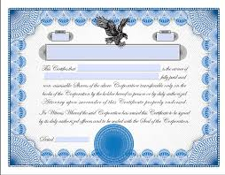 Stock Certificats Printable Stock Certificates Exhibitindexes Com
