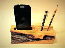 wooden desk accessories wooden cell organizer phone desk stand wireless desk holder wireless holder office desk wooden desk accessories