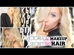 in honour of the victoria s secret fashion show i did a tutorial on some my soin of their beachy natural angel hair and makeup hope you guys enjoy