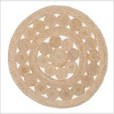 cheap round rugs. Sale Natural Daisy Jute Flat Weave Round Rug - Rugs Of Beauty Cheap