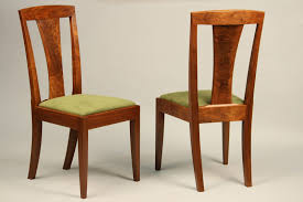 Doucette and Wolfe Fine Furniture Makers Custom Side Chair