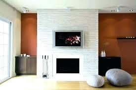 glass tile fireplace surround ideas gas sur