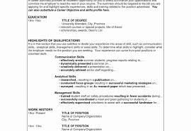Resume Qualifications Summary Summary Of Qualifications Resume Examples Awesome Resume 54