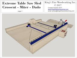 table saw sled jig extreme plan page pictures plans the crosscut miter dado top circular jigs