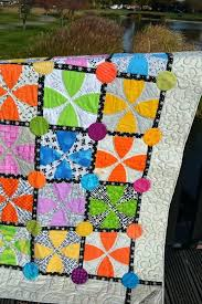 Solid Bright Colored Quilts Bright Colored Quilt Patterns Bright ... & ... Whimsy Garden Quilt Pattern By Sharon Mcconnell Color Girl Quilts With Bright  Colors Low Volume Bright ... Adamdwight.com