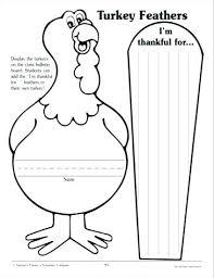 Turkey Printout Printable Feather Template Free Face Wakacyjnie Info