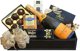 veuve clic chagne and chocolate