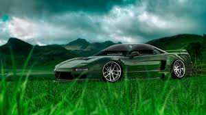 honda nsx jdm crystal nature car