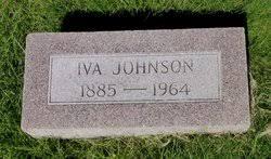 Iva Watkins Johnson (1885-1964) - Find A Grave Memorial