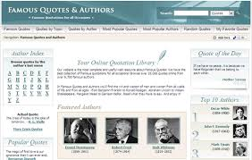 Quotes Website Gorgeous 48 Websites For A Daily Fix Of Sayings Quotations