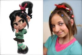 Pretty Girl Hair Style vanellope von schweetz wreckit ralph hairstyles cute girls 7674 by wearticles.com