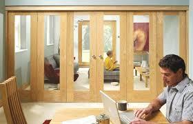 interior bi fold doors bistro glass