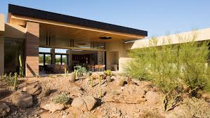 architecture modern houses. Beautiful Modern Gorgeous Desert Home Blurs The Lines Between Indoor And Outdoor Living For Architecture Modern Houses