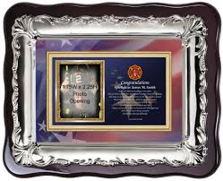 dels about fire fighter graduation picture frame and fire academy gift photo plaque