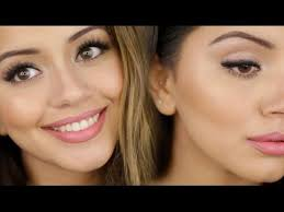 fresh makeup look spring get ready with me