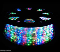 christmas rope lighting. 1800 LED Christmas Rope Lights 50M - 8 Functions Multi-Coloured Lighting S