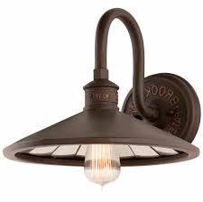 antique and vintage black bronze outdoor motion activated
