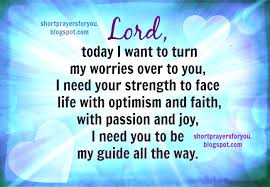 Christian Prayer Quotes Best Of Lord This Day I Want To Turn My Worries Over To You Short Prayer
