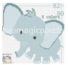Elephant C2c Graph Crochet Pattern Instant Pdf Download