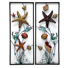 coastal metal wall art loading indoor outdoor nautical compass metal wall art